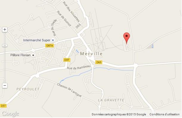 carte merville