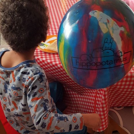 ballon hippopotamus