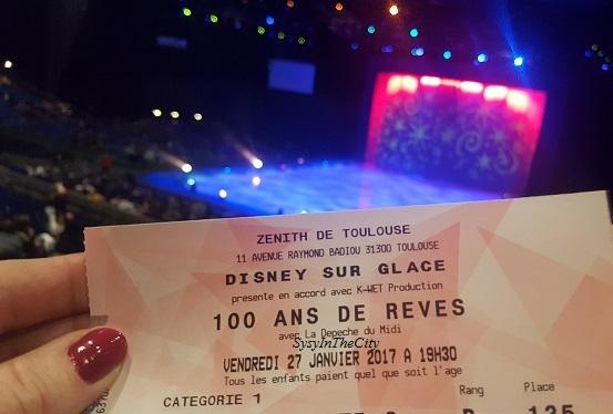 Disney sur glace Toulouse