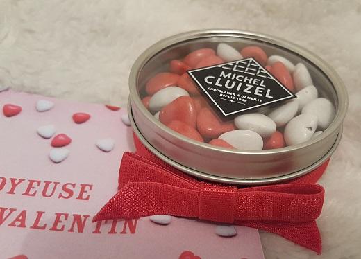boite coeur chocolat saint valentin michel cluizel