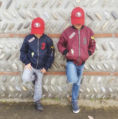 bomber enfants