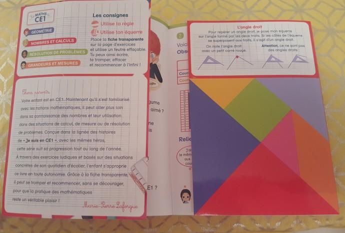 livre maths ce1