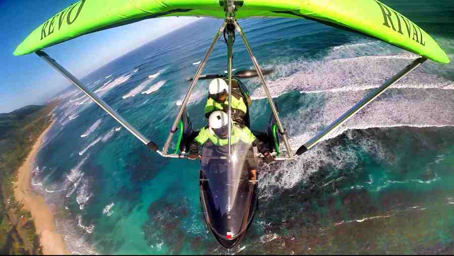 hang gliding hawaii