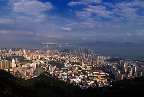shenzhen nanshan mountain scenery