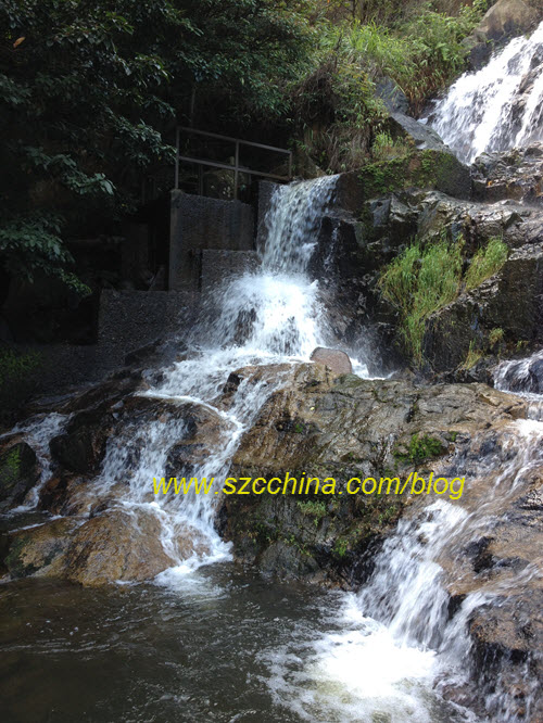 Hong kong Silver Mine waterfall