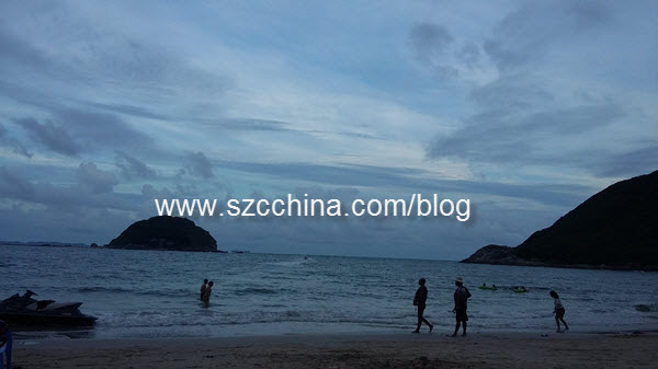 shenzhen xichong beach independence day 2016