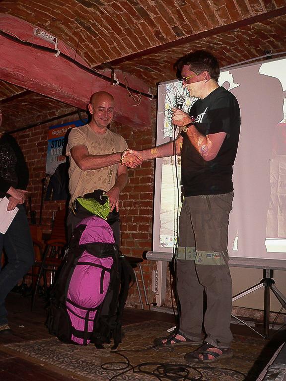 Nagroda za najlepszą prezentację podróżniczą na XV Nocy Podróżnika w Łodzi