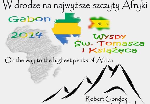 Gabon i Wyspy Św. Tomasza i Książęca - logo