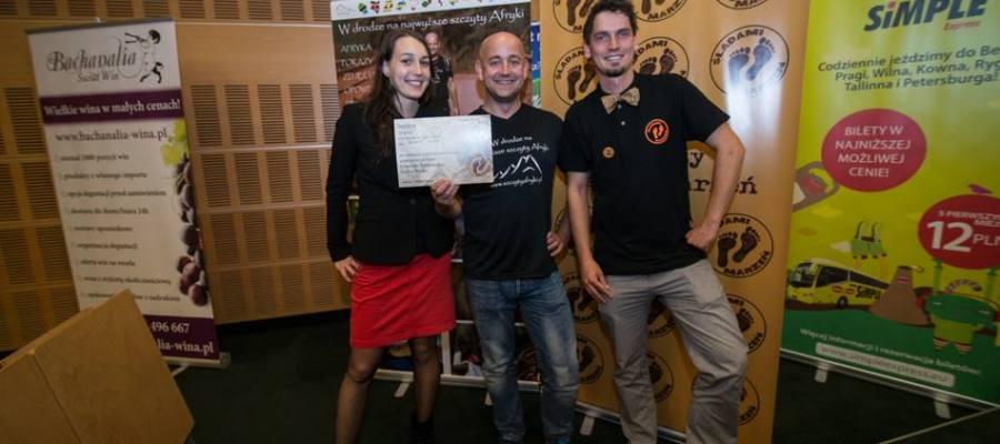 Śladami Marzeń - nagroda na Festiwalu Podróżniczym