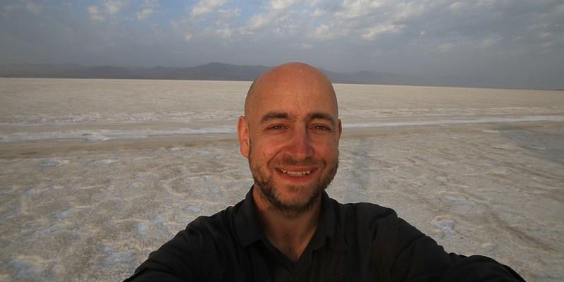 Robert Gondek w Etiopii