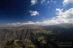 Etiopia - Góry Semien - Widok z Imet Gogo