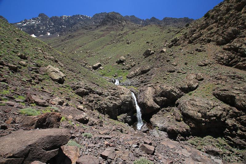 Maroko - Wodospad