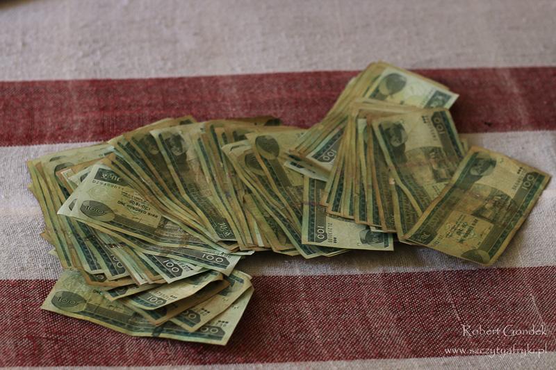 Etiopskie pieniądze - birry