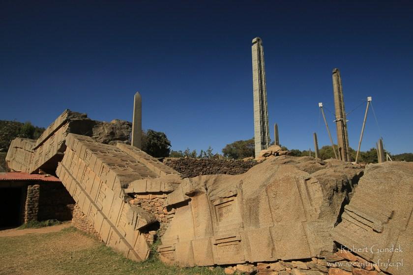 Etiopia - Aksum - Stele