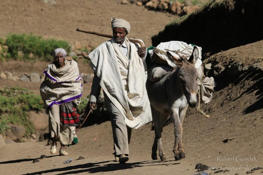 Etiopia - Góry Semien – Mieszkańcy gór