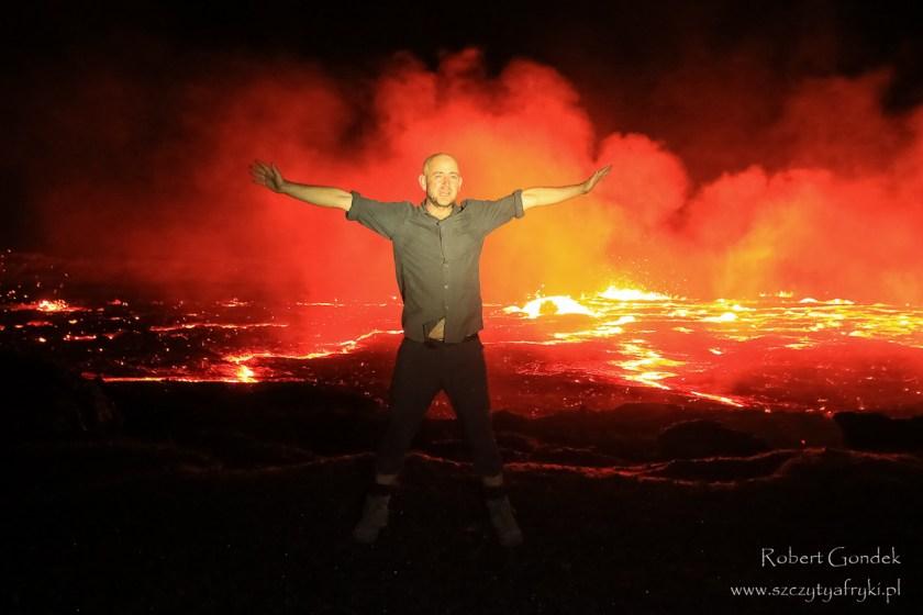 Na wulkanie Erta Ale
