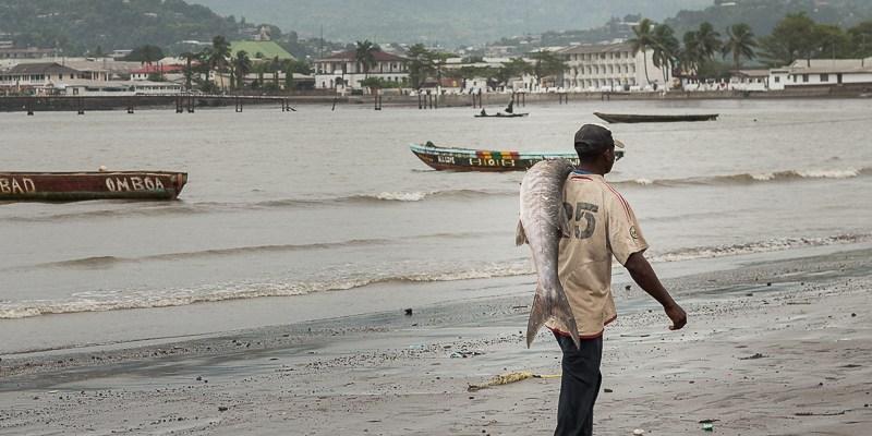 Limbe – wioska rybacka na kameruńskim wybrzeżu