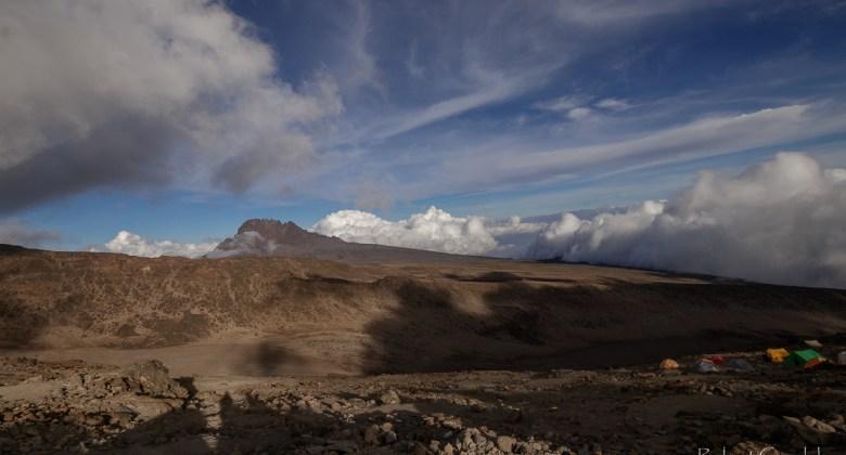 Mawenzi - jeden z wierzchołków Kilimandżaro