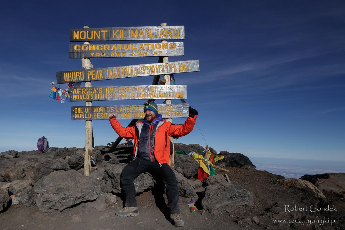Zdobyłem Kilimandżaro!