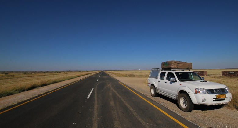 Droga w Namibii