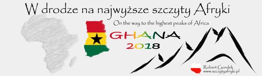 Logo projektu podczas podróży do Ghany
