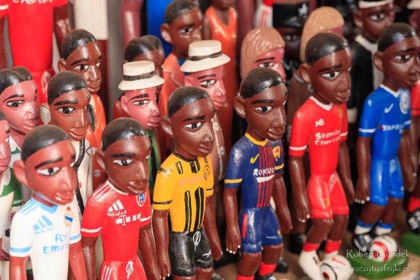 Plaża Kokrobite - Piłkarze na pamiątkę z Ghany