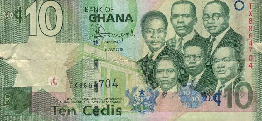 Waluta w Ghanie