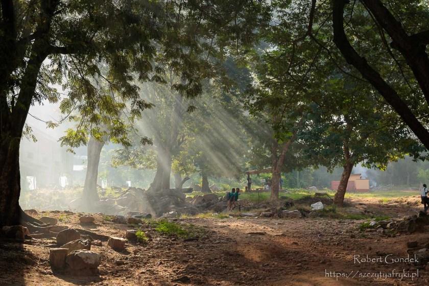 Ghana - poranek