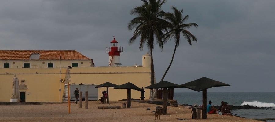 Fort i muzeum São Sebastião w São Tomé