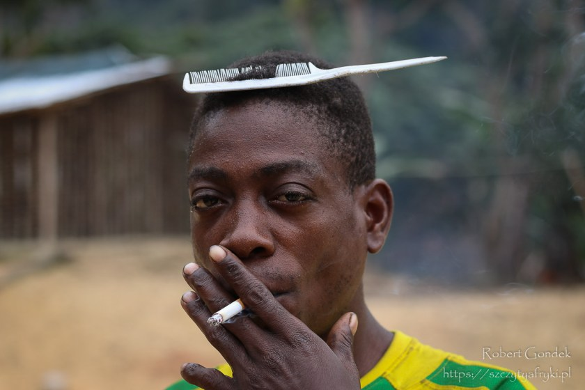 Pigmej Bongo z Gabonu