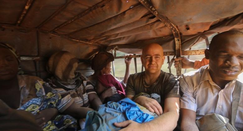 W autobusie do Makokou