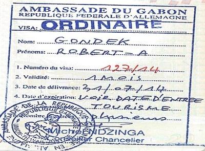Gabon - informacje praktyczne - wiza do Gabonu
