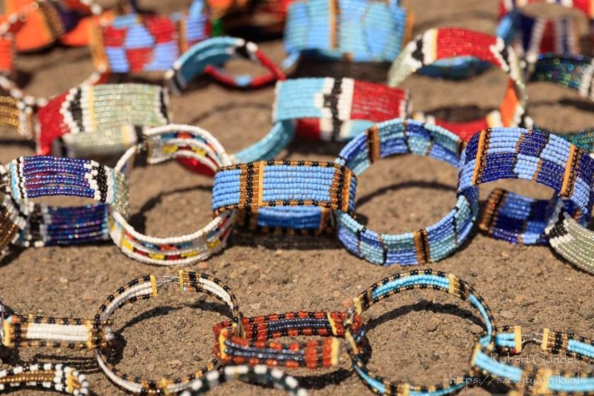 Pamiątki z Kenii