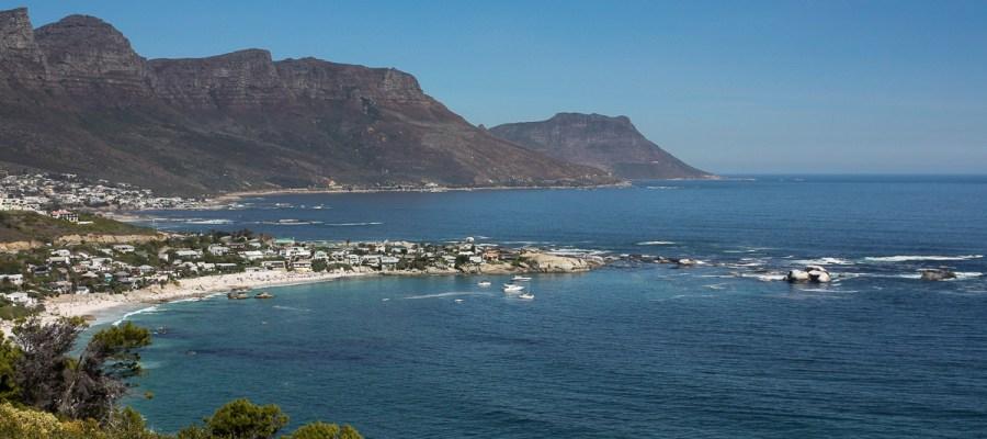 Wybrzeże w okolicach Kapsztadu