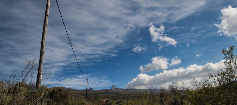 Pierwszy dzień trekkingu na Mount Kenya