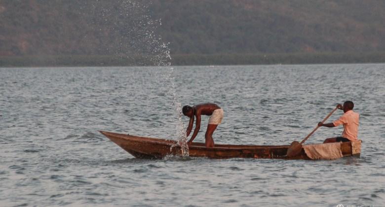Krótka wizyta nad jeziorem Wiktorii w Ugandzie