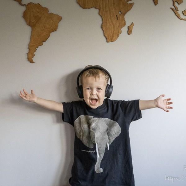 Koszulka ze słoniem dla chłopca