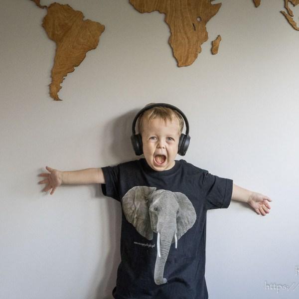 T-shirt ze słoniem dla chłopca