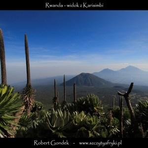 Zdjęcie z Karisimbi w Rwandzie