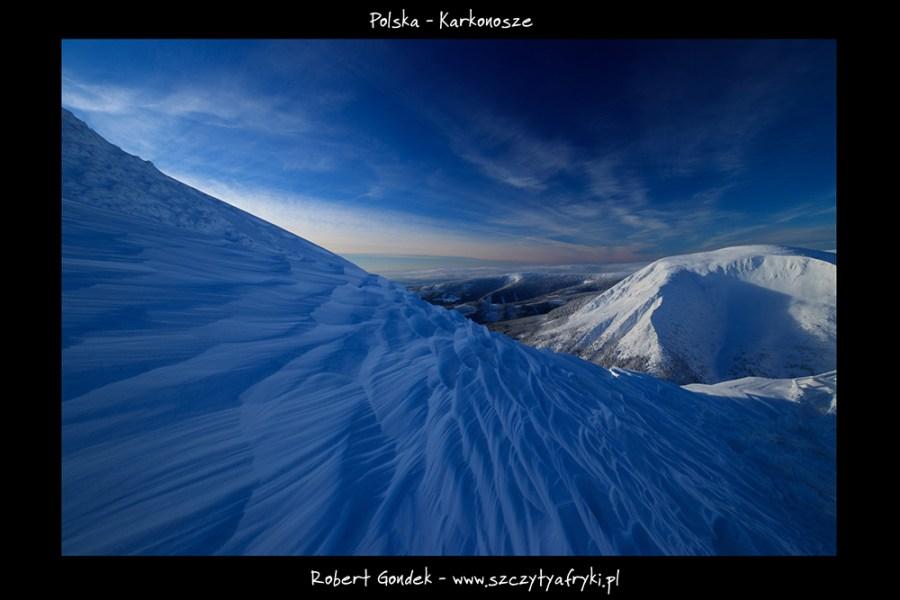 Zdjęcie zimowe Karkonosze