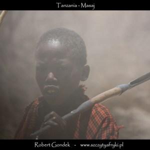 Zdjęcie Masaja z Tanzanii