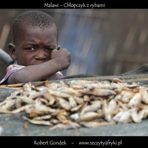 Zdjęcie chłopczyka z Malawi