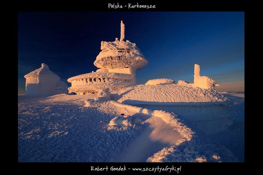 Zdjęcie zima na Śnieżce