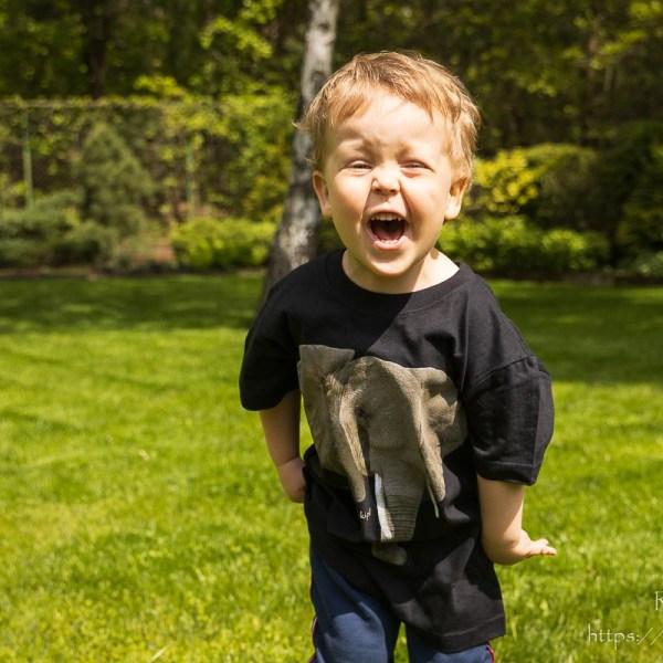 Koszulka ze słoniem dla dzieci