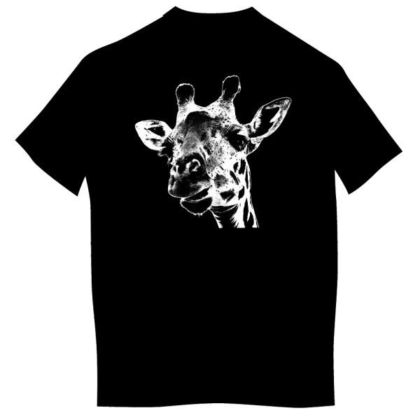 Koszulka z żyrafą dzieci