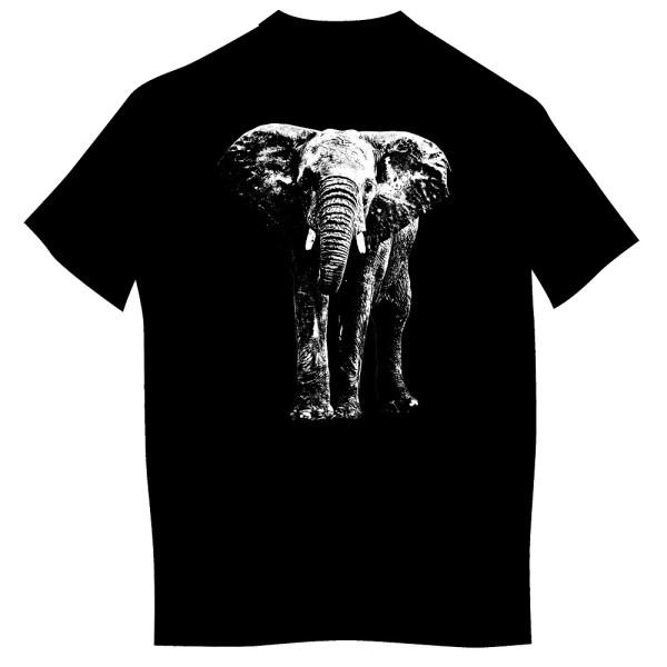 Koszulka ze słoniem dzieci