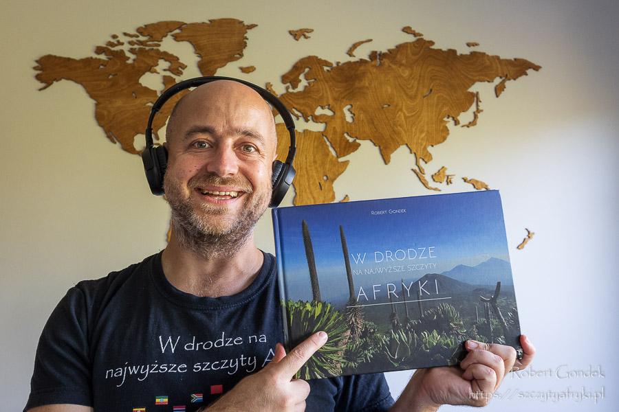 Album fotograficzny W drodze na najwyższe szczyty Afryki