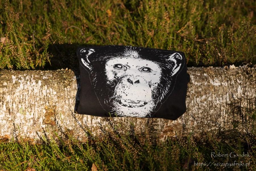 Damska koszulka z szympansem