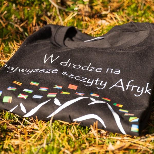 Koszulka z afrykańskimi flagami dla chłopców i dziewczynek
