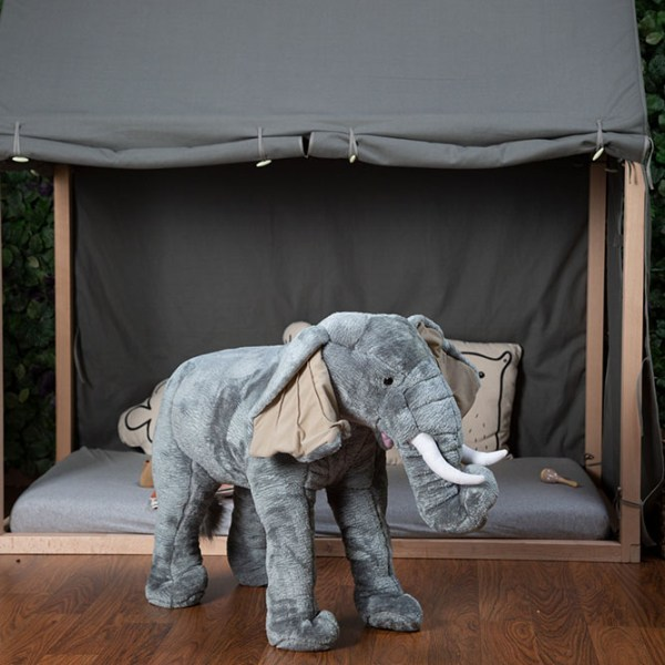 Słoń zabawka - dekoracja pokoju dla dzieci